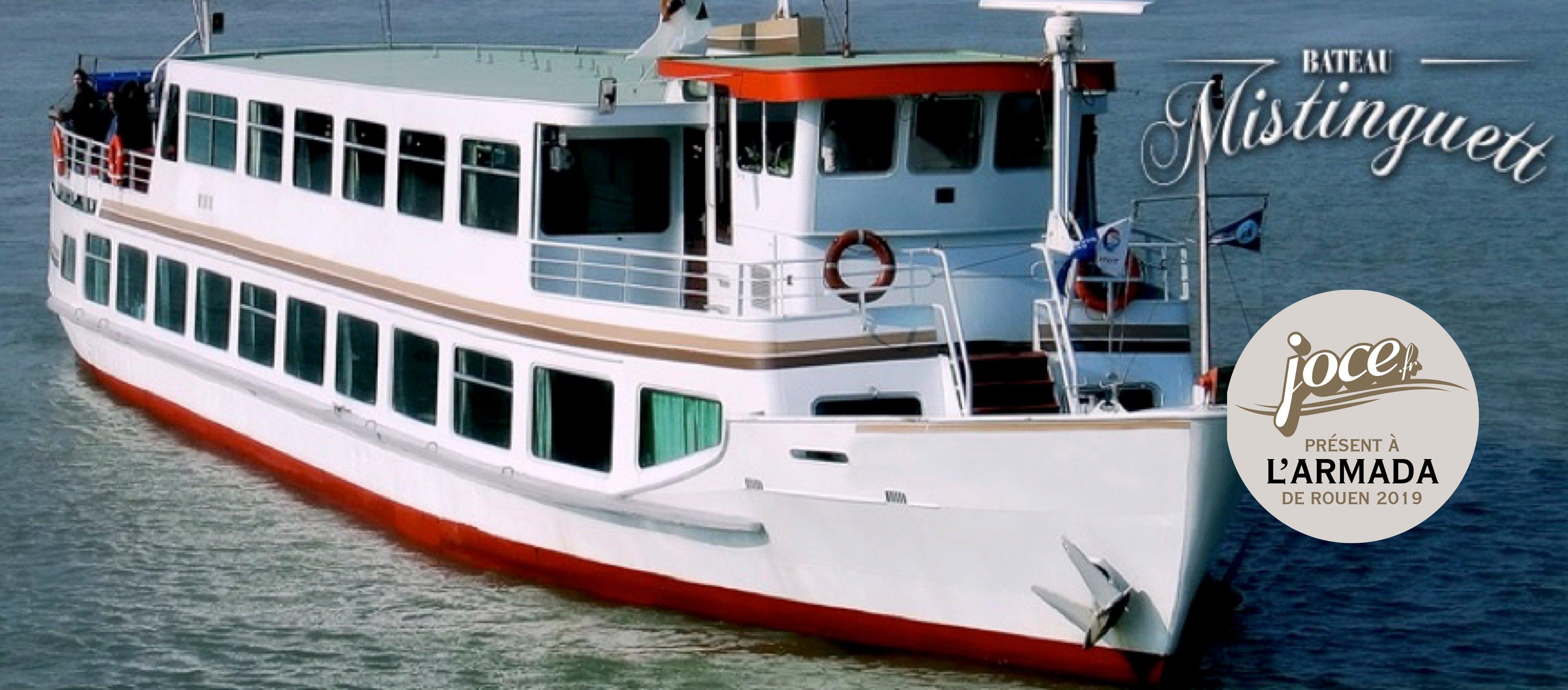Le bateau Mistinguett' à l'Armada